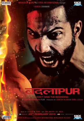 First Poster of Badlapur